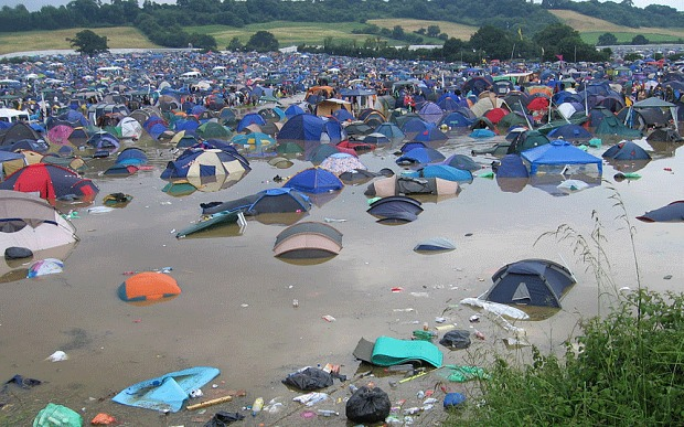 Weather reports answer prayers of thousands of Glastonbury non-ticket holders